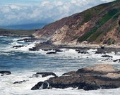 California Coast Photo -Pacific Coastline Art Print -Coastal Decor -Bodega Bay Art -Seascape -8x10 Colorado Fine Art Photograph