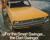 Groovy Vintage 1969 Dodge Dart Ad