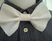 Custom Order for sabrinadeutsch Black Pre Tied Bow Tie and Matching Black Diaper Cover (boy) Perfect for Weddings and Everyday Wear