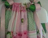 John Deere All Over Print - Pink Pillow Case Dress