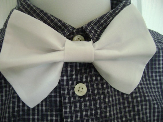Bright White Pre Tied Bow Tie Perfect for Weddings and Everyday Wear Infants, Boys, Men, Girls, Women