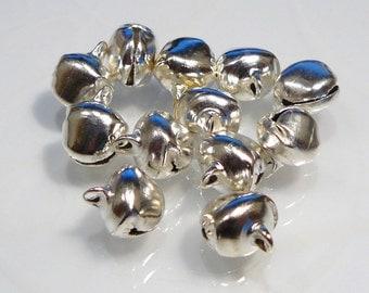 12 Bells.....Silver Bells Holiday Christmas....12mm...BB