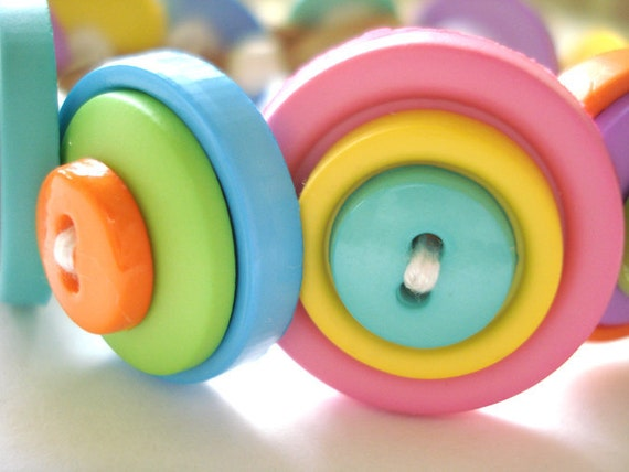 Pastel Bracelet- Rainbow Sherbet