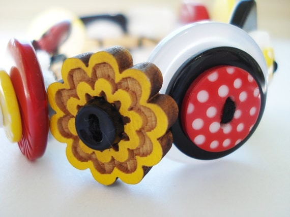 Button Bracelet- Maryland, My Maryland