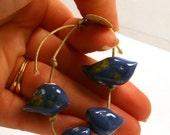 Blue Bird Bead Set