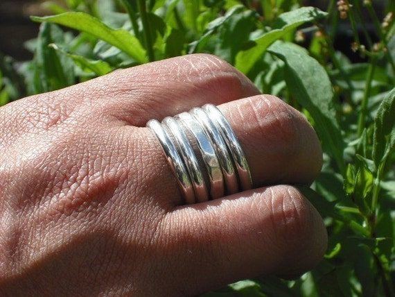 stack rings x 5