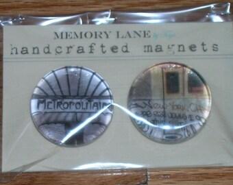 Metropolitan Magnets (Set of 2)
