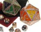 Stained Glass d20
