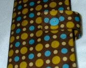 Polka Dot Paperback Book Cover (Free Shipping)