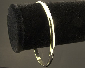 Sterling Silver Cuff / Simple Silver Cuff Bracelet