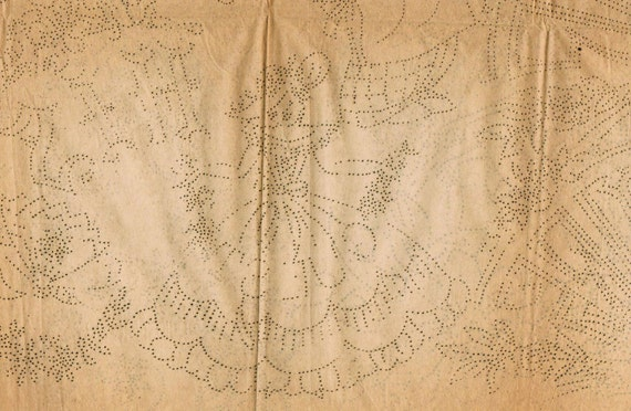 1930s Mail Order 4600, 4250, and 4643 UNCUT Numo Embroidery Transfers Designs for Linens