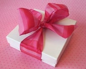 White Jewelry Gift Boxes, Favor Boxes, Box, Gift Box, Cotton Filled 3.5x3.5x1 Pack of 10
