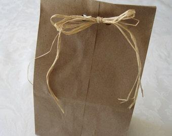Paper Bags, Gift Bags, Paper Bag, Brown Paper Bags, Kraft Bags, Lunch Bags, Small Paper Bags, Favor Bags, Gusset Paper Bags 8x2.5x4 Pack 100