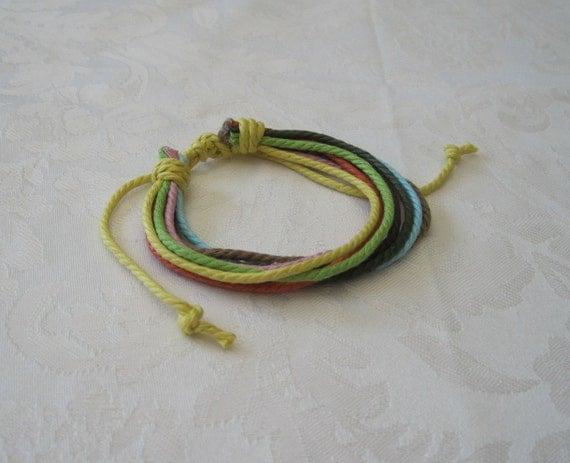 Friendship Bracelet Cotton Rope