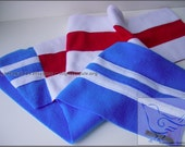 Team Stripe Scarf - XXL XXSoft Fleece - Your Team, Your Colors