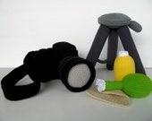 Crochet Pattern - CAMERA- Toys - PDF  (00387)