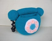 Crochet Pattern - Cell Phone Holder - PHONE  (00439)