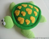 Crochet Pattern - SEA TURTLE - Toys - pdf  (00449)