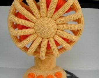 Crochet Pattern - VINTAGE FAN - Toys / Deco  (00405)