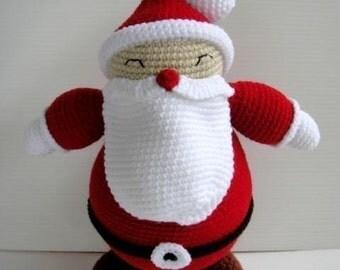 Crochet Pattern - SANTA CLAUS - Toys / PDF / Christmas  (00404)
