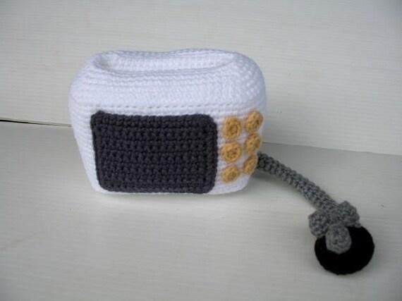 Crochet Pattern - Cell Phone Holder - MICROWAVE  (00401)