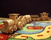 Wooden Train set 5 pcs Toys