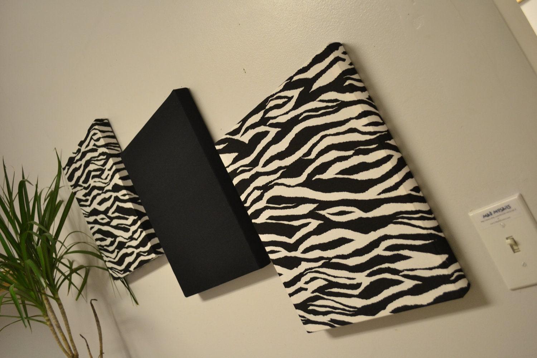 Items Similar To Zebra Wall Decor Canvas Wall Hangings