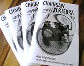 Art Zine Chainsaw Vertebra Issue 3 Outsider Punk Surreal Book ANDRESS