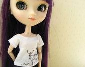 Pullip Blythe T-shirts, Nature inspiration for doll 1/6: pullip, momoko, blythe, obitsu, azone, ...