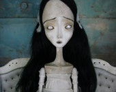 RESERVED Mina - Victorian Ghost Art Doll by Evelyn's Wonderland