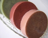 BLACK CHERRY Shave Soap Puck Vegan