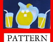 Card Table Playhouse Pattern, Add On, The FOOD, 35 patterns, Instant Download ebook only