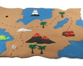 Pirate Map, Perfect for Imaginative Pirate Play, Custom Order