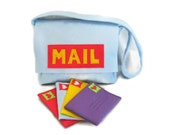 Mail Bag with Working Envelopes, Custom Order, Choose Your Colors