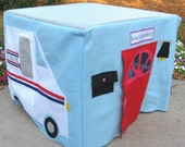 Post Office Card Table Playhouse, Personalized, Custom Order