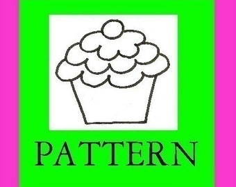 Card Table Playhouse Add On Pattern, CupCakery, Pattern, Instant Download eBook, nearly 30 Pages