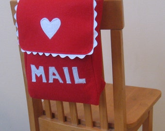 Chair Backer, Mailbox Style, Custom Order, Choose Your Colors