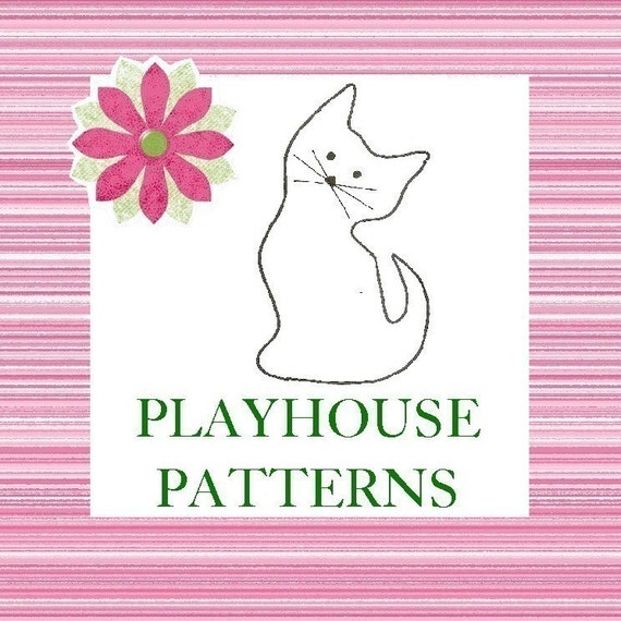 Animals, Birds, Fish and Bugs, Instant Download eBook Pattern for Playhouses, Wearable Art, Tote Bags, 29 patterns