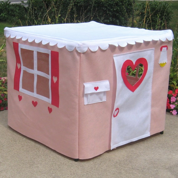 Kids Card Table Playhouse, Custom Order, Basic Bungalow