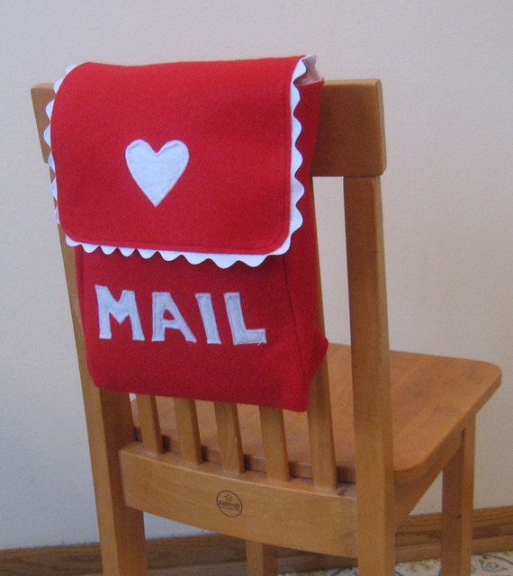Chair Backer, Mailbox Style, Custom Order, Choose Your Colors, Can Be Personalized