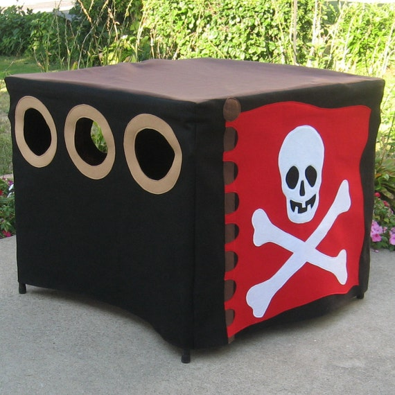 Pirate Card Table Playhouse Pattern
