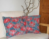 Pillow Cover Set Felted - Retro (2 pieces) 18 x 18 inches
