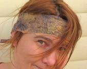 Headband Nuno Felted Silk
