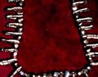 Black Stick Pearl Necklace