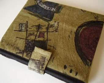 iPad, Kindle or any similar device, custom made to order, sturdy upholstery fabric