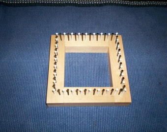 4 inch maple mini loom