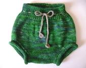 Wool Soaker Knitting Pattern-  Cutie Bahootie pattern ONLY