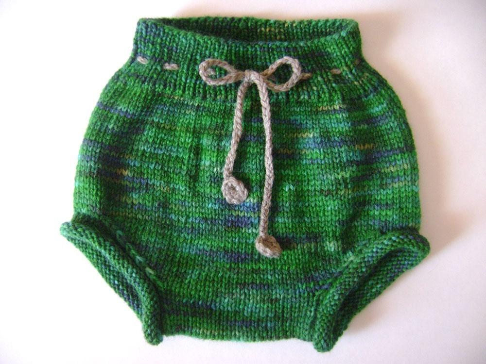 Knit Wool Soaker Pattern : Wool Soaker Knitting Pattern Cutie Bahootie pattern ONLY