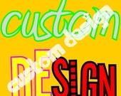 SALE - CUSTOM DESIGN PHOTO GREETING CARD