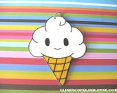 Vanilla Ice Cream Pendant